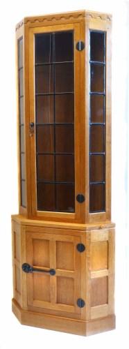 Lot 518 - Mouseman cabinet