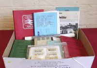 17 - Quantity of railway ephemera.
