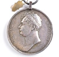 Lot 41-Waterloo Medal