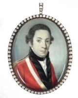 103 - Alexander Gallaway Portrait miniature