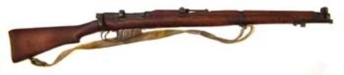 Lot 84-Lee Enfield de-activated rifle.