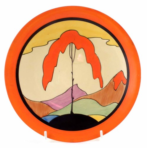 156 - Clarice Cliff plate