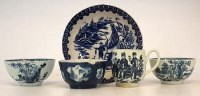 Lot 225-18th century English porcelain   to include a