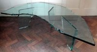 734 - Danny Lane glass table
