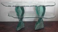 755 - Danny Lane glass side table