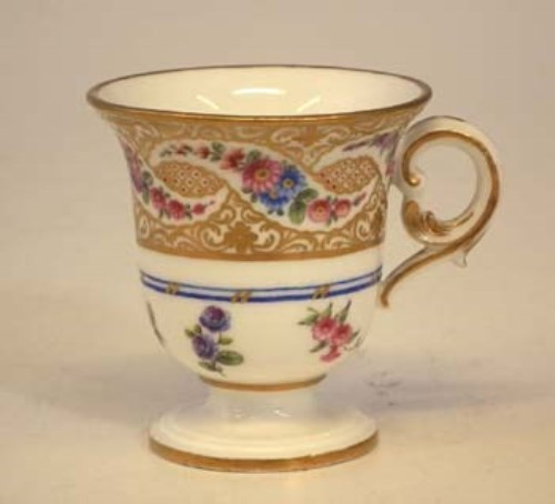 Lot 172-Sevres ice cup.
