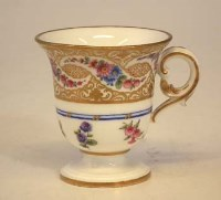 172 - Sevres ice cup.