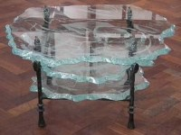 543 - Danny Lane glass table