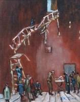 521 - William Turner, Stairway to Paradise, oil.