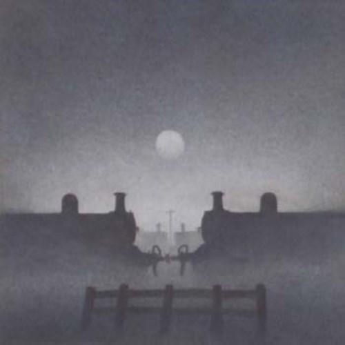 640 - Trevor Grimshaw, The Evening of Steam - 1, graphite.