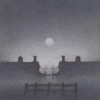 640 - Trevor Grimshaw, The Evening of Steam - 1, graphite.
