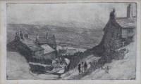 697 - Pierre Adolphe Valette (1876-1942), Northern Landscape, etching.