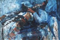 Lot 332 - Dorothy Bradford, Cellist - Oliver Vella, oil.