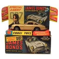 Lot 85 - Corgi 261 James Bond Aston Martin.