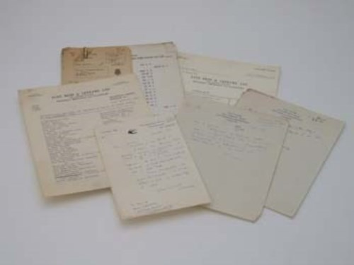 637 - Quantity of various letters and archive material relating to L.S. Lowry.