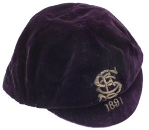 44 - International cap 1891.