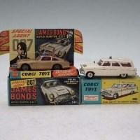 Lot 130 - Corgi James Bond car and Zephyr Motorum car.