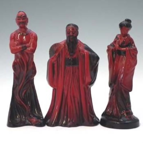 Royal Doulton Flambe Figurine Confucius HN 3314