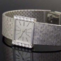 383 - Patek Philippe 18ct white gold lady's bracelet
