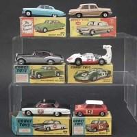 131 - Six Corgi boxed cars