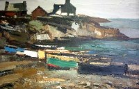433 - Donald McIntyre, Moelfre, Anglesey, oil