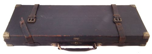 Lot 112-William Powell and Sons shotgun case of local interest.