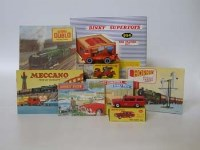 487 - Dinky model 954,960,257 also fourteen catalogues.
