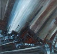 78 - William Turner, Diagonal Image, oil