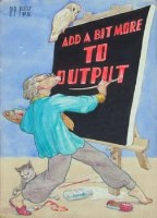 85 - Herbert F. Shuttleworth, Industrial poster designs, watercolour (10)