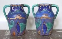 565 - Clarice Cliff Vases