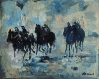 3 - J.L. Isherwood, The Lincoln, oil