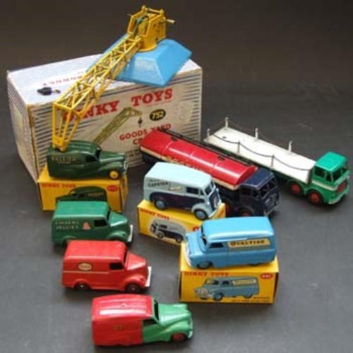 208 - Group of dinky toys (9).