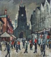 40 - William Turner, St. Mary's, Stockport, oil