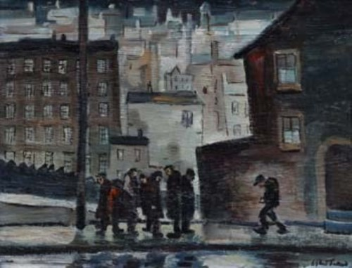 41 - William Turner, Rain in Bury, oil