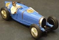 13 - Scalextric Bugatti Type 59 C70 blue