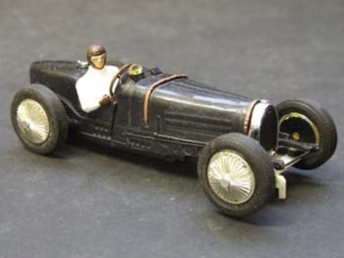 Lot 25-Scalextric Bugatti Type 59 C70 black