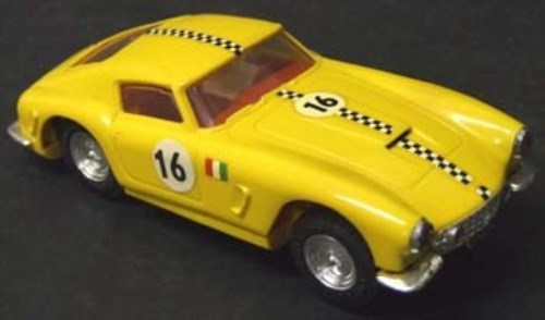 162 - Scalextric French Ferrari in Yellow