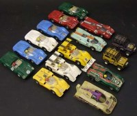 Lot 205 - Fifteen Spanish Scalextric unboxed cars