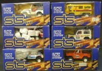 Lot 276 - Six Scalextric STS system 4x4 boxed models