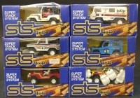 Lot 277 - Six Scalextric STS system 4x4 boxed models