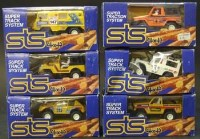Lot 278 - Six Scalextric STS system 4x4 boxed models