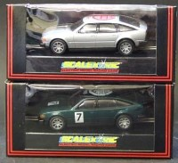 Lot 330 - Two Scalextric NSCC Rover 3500cc  model numbers