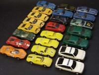 Lot 346 - Twenty three unboxed scalextric cars