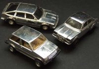 Lot 367 - Three Scalextric Silver cars