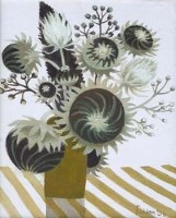 4 - Mary Fedden, Dried Flowers, oil