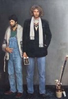 43 - Robert Wraith, My Two Friends, oil