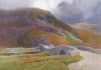 152 - Arthur Tucker, Grange in Borrowdale, watercolour