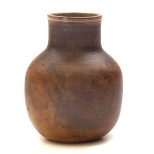 Lot 645-Martin Brothers plain vase