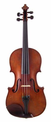 Lot 1-Wolff Brothers class 5C violin No. 4054 dated 1909 with bow and case.
