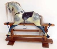 28 - Rocking horse.